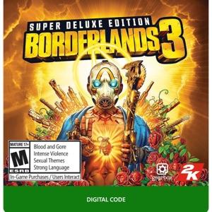 Borderlands 3 Super deluxe Edition Full digital Code (Xb1)