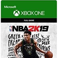 NBA 2K19 Full Digital Game Code (Xbox One)