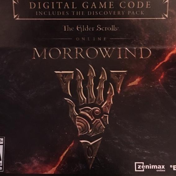 Elder Scrolls Online ESO Morrowind Upgrade DLC Only (PS4