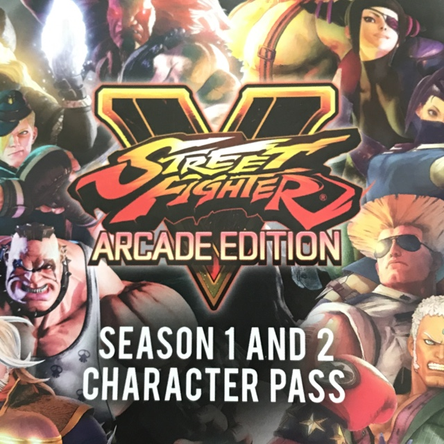 Street Fighter V Character Season Pass 1 2 Ps4 Ps4 Games