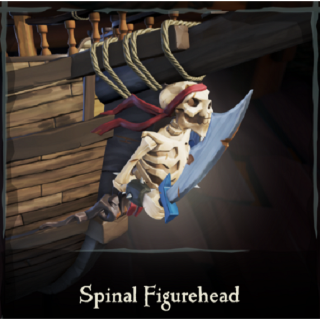Sea Of Thieves Spinal Figurehead [CHEAP]