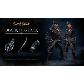 Sea of Thieves Black Dog Pack DLC Code XBOX Windows 10