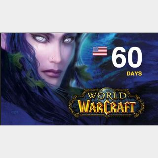 World of Warcraft and WoW Classic - Game Time 60 days (WoW US) - Instant Delivery