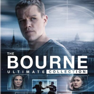 Bourne 1-5 Collection Instawatch