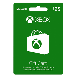 $25 Xbox Gift Card (INSTANT DELIVERY)
