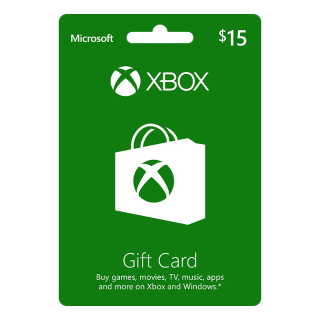 $15 Xbox Gift Card (INSTANT DELIVERY)