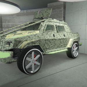 Vehicle | modded insurgent pickup