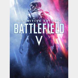 Battlefield V: Definitive Edition (Origin GLOBAL - Instant delivery)