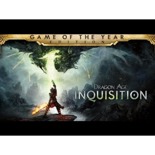 Dragon Age: Inquisition - Game of the Year Edition (PC Origin - Instant delivery)