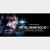 METAL GEAR SOLID V: GROUND ZEROES (Instant delivery)