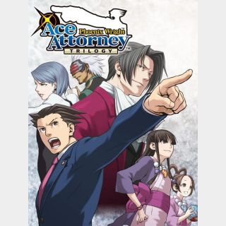 Phoenix Wright: Ace Attorney Trilogy (Instant delivery)