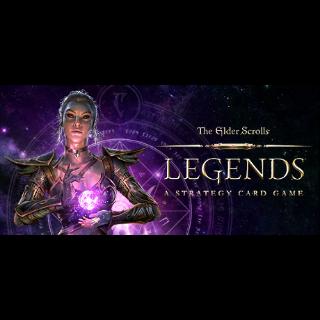 The Elder Scrolls: Legends: 2 Card Packs, 1 ticket, 100 Gold, 100 Souls (Bethesda key)