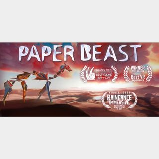 Paper Beast (VR Virtual Reality - Instant delivery)
