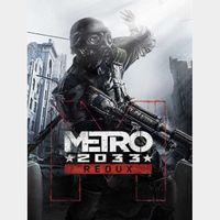 Metro 2033 Redux (Instant delivery)