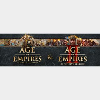 Age of Empires Definitive Edition Bundle (Instant delivery)
