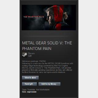 METAL GEAR SOLID V: THE PHANTOM PAIN (Steam Gift Global)