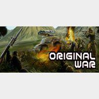 Original War (Instant delivery)