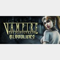 Vampire: The Masquerade - Bloodlines (Instant delivery)