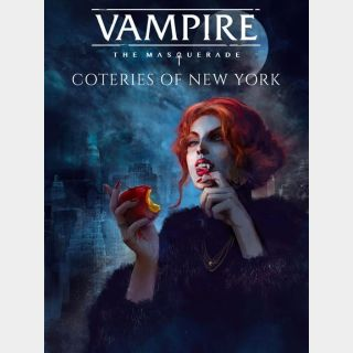 Vampire: The Masquerade - Coteries of New York (Instant delivery)