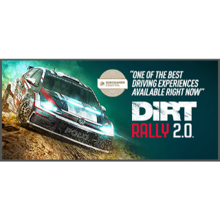 DiRT Rally 2.0 + 3 DLC (PC Steam - Instant delivery)