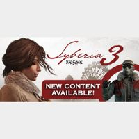 Syberia 3 (Instant delivery)
