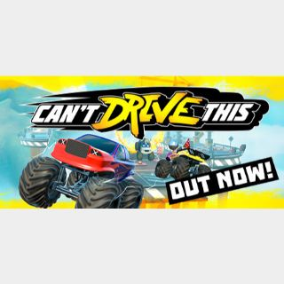 Can't Drive This (Instant delivery)