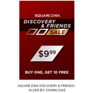 8 Games in 1 Steam key [Square Enix Discovery and Friends Sale]