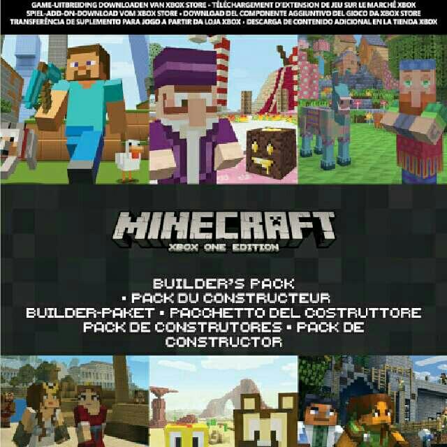 Minecraft Builders Pack XBox One Games Gameflip - Minecraft xbox auf pc spielen