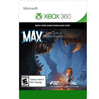 Max: the curse of brotherood Xbox 360 each
