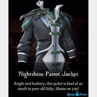 Sea of Thieves - Nightshine Parrot Set (Ship, Weapons, Clothing) [XBOX-WIN10] [GLOBAL]