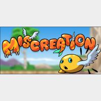 MISCREATION: EVOLVE YOUR CREATURE! STEAM KEY