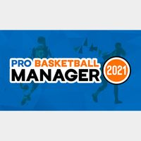 PRO BASKETBALL MANAGER 2021 STEAM KEY