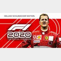 f1 2020 schumacher edition Steam
