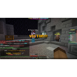 I will get you a minecraft win on any mini game or server
