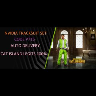 PUBG   P715 NVIDIA TRACKSUIT