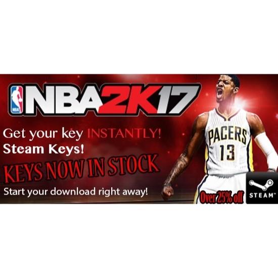 NBA 2K17 Steam Key - Steam Games - Gameflip