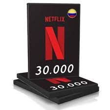 30.000COP Netflix gift card Colombia