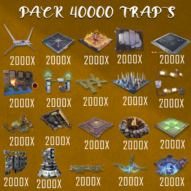 Trap Pack | 40000x