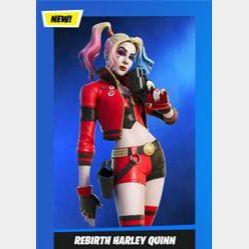 Code | 3 x Harley Quinn Rebirth