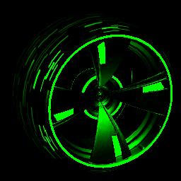 Blade Wave: Inverted | Forest Green