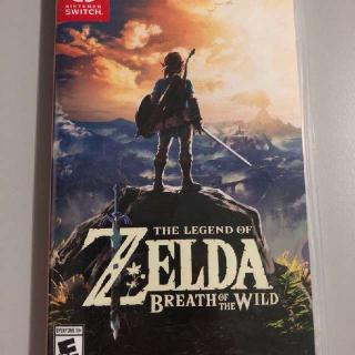 Zelda Breath Of The Wild Brand New