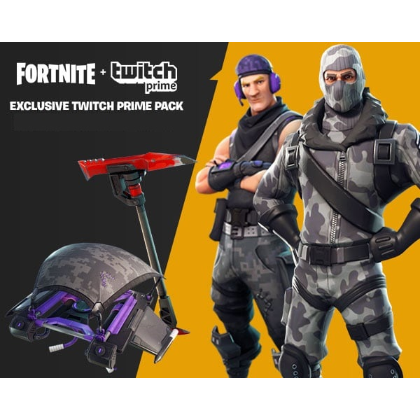 Fortnite Twitch Prime Loot-Pack - PlayStation Store Gift Cards