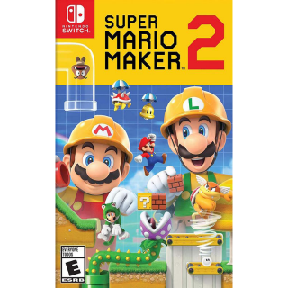 Super Mario Maker 2 - Nintendo Switch - INSTANT