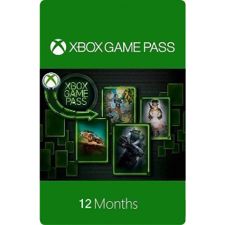 Xbox Game Pass for Xbox One 12 Months
