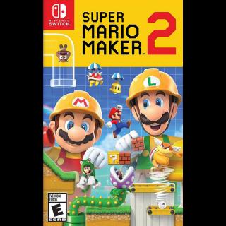 Super Mario Maker 2 - Nintendo Switch - INSTANT