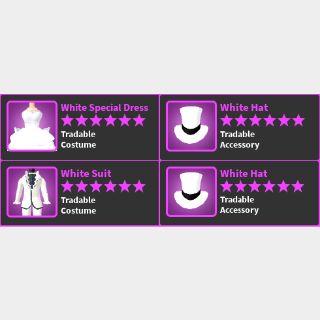 Limited | White Suit/Dress Set