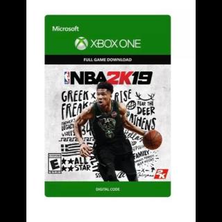 NBA 2K19 - Xbox One Enbanced