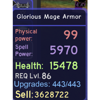 Other   Glorious Mage Set w/STAF