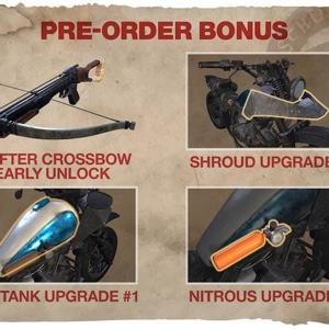 Days Gone preorder Bonus items