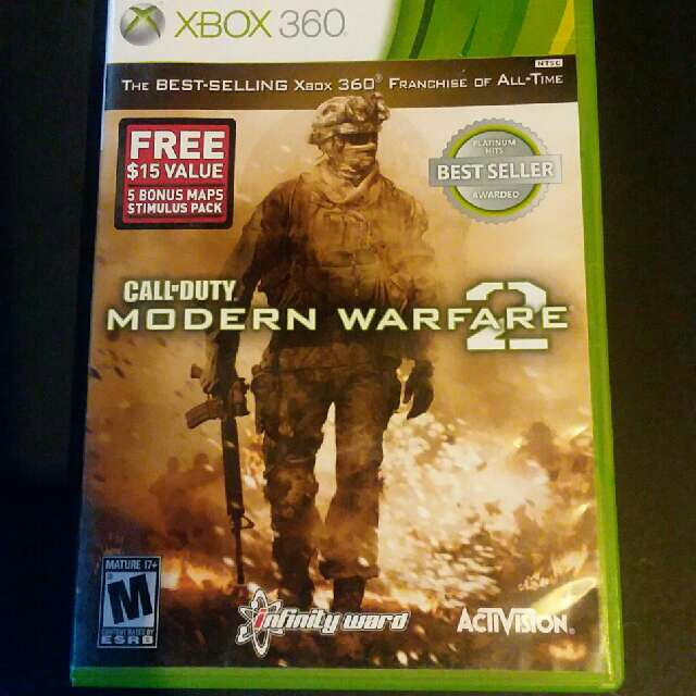 Call of Duty Modern Warfare 2 XBOX 360 - XBox 360 Games (Good ... Call Of Duty Modern Warfare Map Packs on